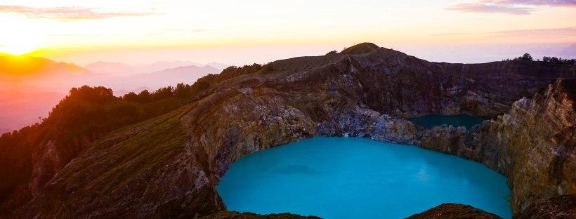 Kelimutu Vulkaan flores zonsopkomst